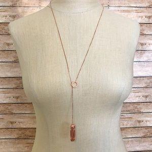 Fitbit Flex 2 rose gold necklace holder